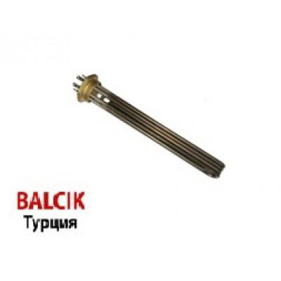 Блок ТЭН G2 - 12000W/220V, нерж., L=40см., без трубки  BALCIK