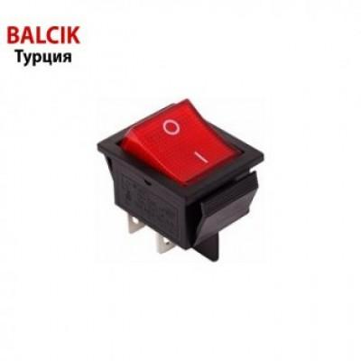 Переключатель клавишный 250V 16 А (сварка, гриль, шаурма) ТУРЦИЯ
