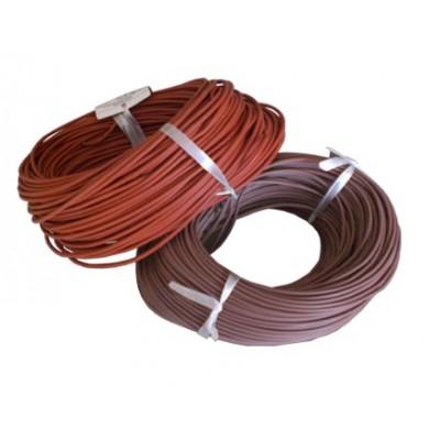 Провод медный термостойкий SIAF - сечение 0,75мм / L=100м (в резино-силиконовой изоляции) ELCAB CABLO, Турция
