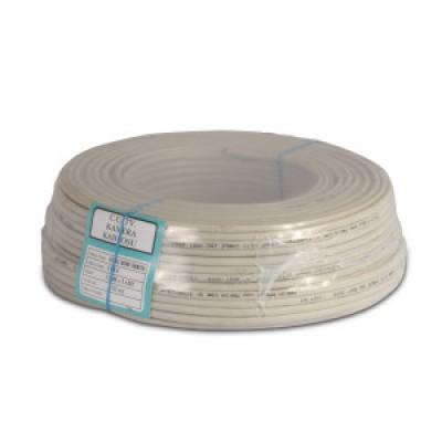 Провод медный термостойкий SIAF-GL - сечение 0,50мм /L=100м (в изоляции + со стекловолоконной оплеткой) Турция
