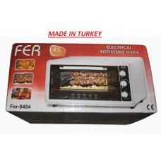 Электро духовка (печь) FER Турция объем 45 литров