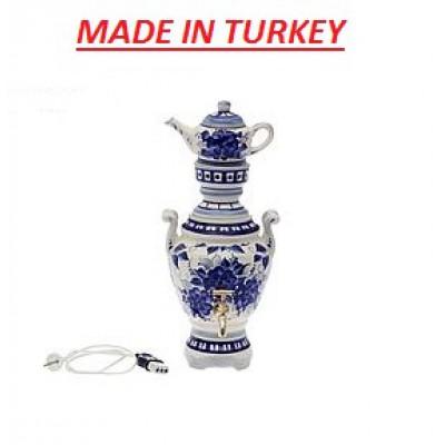 Самовар электрический  с чайником Турция
