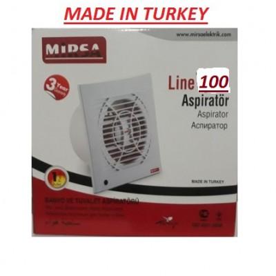 Вентилятор для вытяжки 100 30W 230V 150M MİRSA
