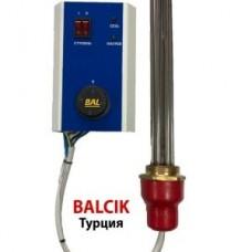 Температурный блок управления ТЭНом для твёрдотопливных котлов + ТЭН (ТБУ+ТЭН)  BALCIK